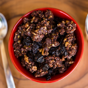 paleo mama bakery cherry chocolate granola