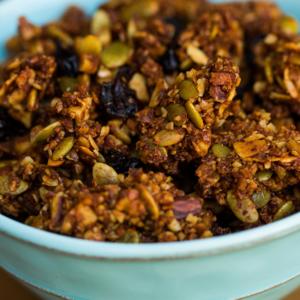 paleo mama bakery cranberry walnut granola