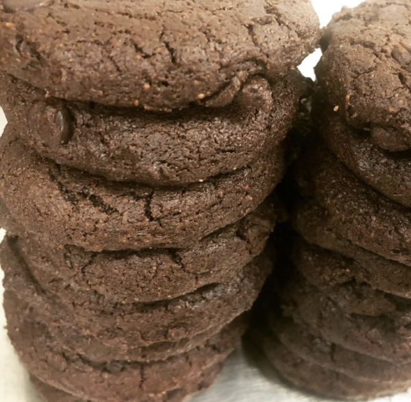 double fudge keto cookies at paleo mama bakery